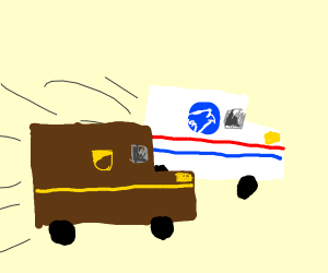 ups is catching up
