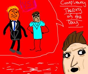 Donald Trump vs Herobrine Conspiracy Theory