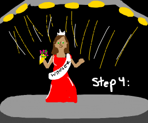 Step three join beauty pageant