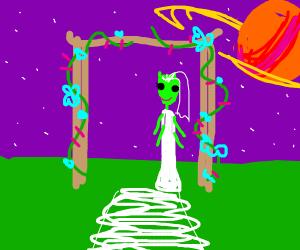 Marrying an alien