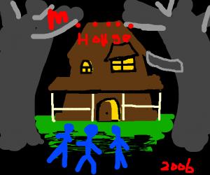 Monster house, 2006 horror film cover