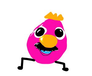 Pink mr.potatoe head is king