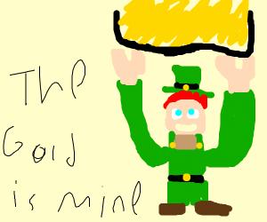 leprechaun steals gold