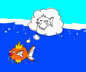 Fish thinking