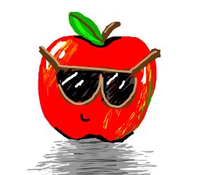 Apple Wearing Sunglasses