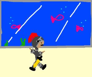 Knight in an Aquarium