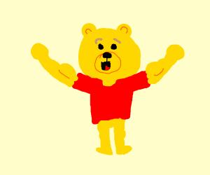 Buff Winnie the Pooh