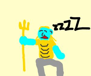 Poseidon sleeps