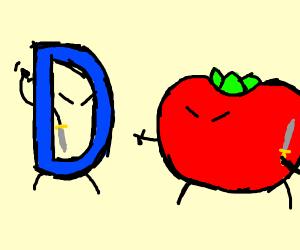 drawception vs. tomato