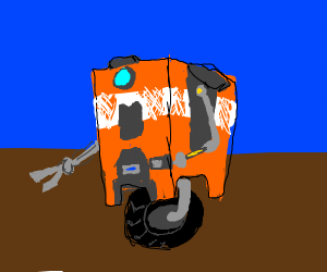 CL4P-TP steward bot, also known as Claptrap