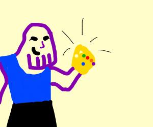 Thanos killing 50percent of the universe