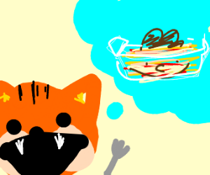garfield wants jon flavored lasagna