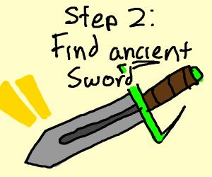 Step 1: begin an epic quest