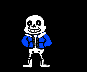 sans without pants