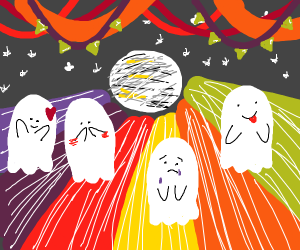Spooky party!