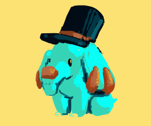 Cute Elepant with hat