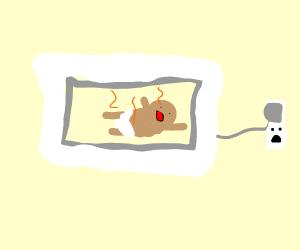 microwaving a baby