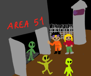 Liberating the aliens from Area 51