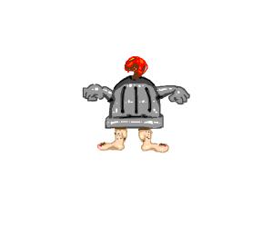 knight with no torso