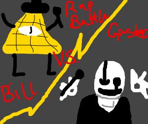 Bill Cipher vs Gaster rap battle