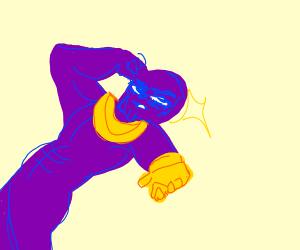 Thanos in Jojo's Bizarre Adventures
