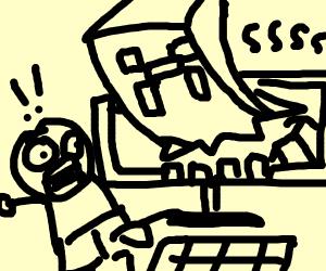 Creeper attacks child via his computer