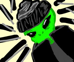 Undercover alien
