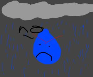 Raindrop Says No