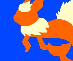 Flareon mermaid