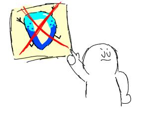 A guy hates Drawception