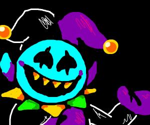 spooky devil clown