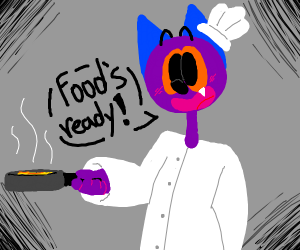 Furry chef