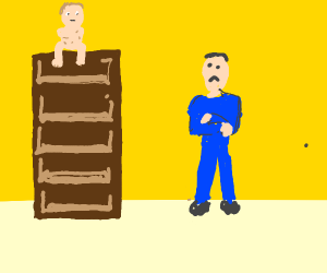 dad dissapointed cause his son is top shelf