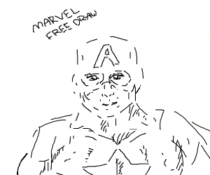 Free draw but it has to be marvel