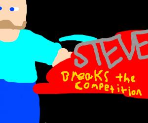 Steve joins Smash