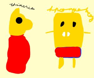 Winnie the Pooh & SpongeBob