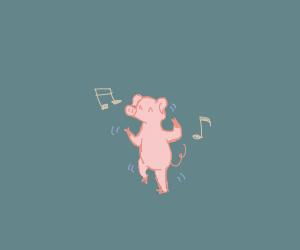 Dancing Pig Boi