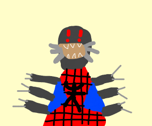anatomically correct spider man