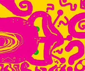 pink alien is uncertain