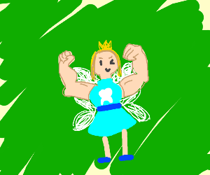 Buff tooth fairy