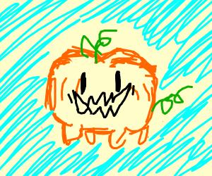 happy pumpkin dog steven universe