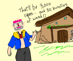 Link buys his first home