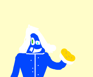 Rouxls Kaard with mac n cheese