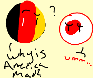 Germany in WWII [I know about Countryballs]
