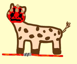 Darth Maul Giraffe