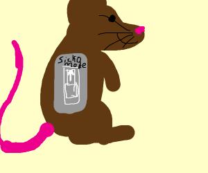rat goes sicko mode