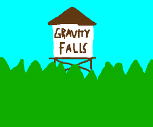 Gravity falls water tower