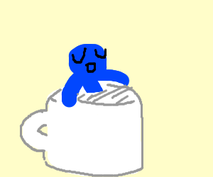 Sitting in my Coffee mug