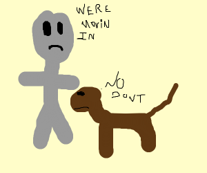 alien and dog move in together <3