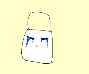 Crying bag